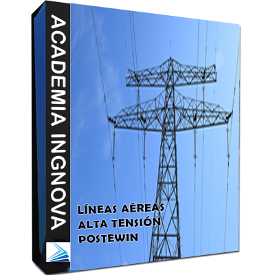 Cálculo Líneas Eléctricas Aéreas Alta Tensión con POSTEWIN